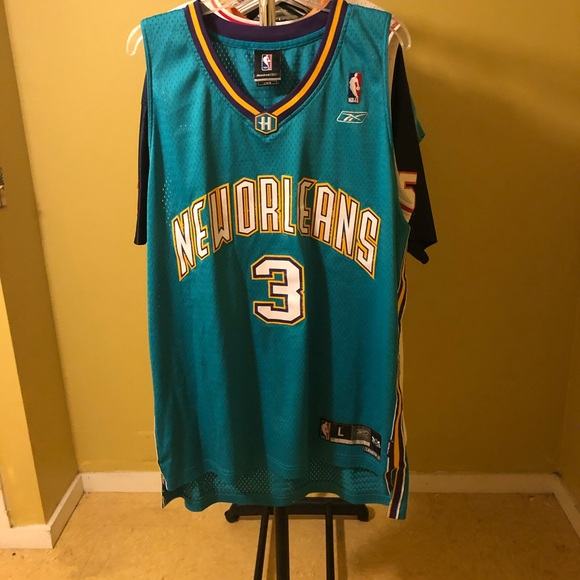 check out db926 434a0 Vintage Throwback Chris Paul Hornets Jersey Large